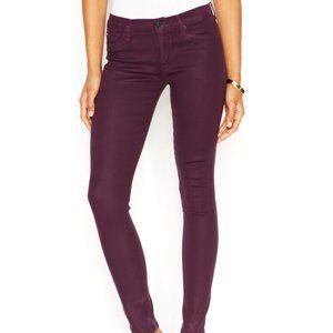 Hudson Purple Skinny Jeans 28